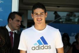 James Rodríguez jugará de blanco las próximas seis temporadas