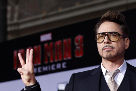 Robert Downey Jr es el actor mejor pagado de Hollywood