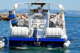 Es Pujols recibe su primera excursión marítima