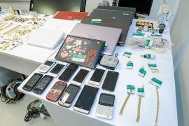 Libres con cargos los cinco detenidos por robos en casas de campo de Santa Eulària y Sant Joan