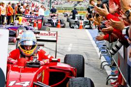 Alonso:«Necesitábamos una carrera loca para optar al podio y la aprovechamos»