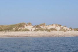 Formentera, Playas. Playa de punta de Trucadors y s'Espalmador.