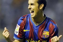 Pedro dice que su intención «siempe ha sido» seguir en el Barça