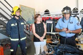 El Consell d'Eivissa pone al día en comunicaciones al Parque de Bomberos