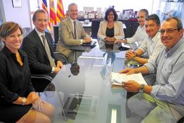 Gutiérrez pide al embajador británico campañas en  positivo sobre Sant Antoni