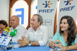 El PREF concedió ayer una rueda de prensa al finalizar la reunión del comité ejecutivo del partido.