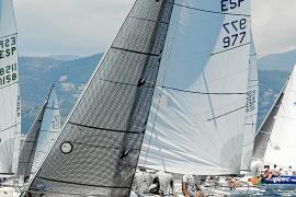 El 'Movistar' de la clase J80, en la Copa del Rey Maphre de vela