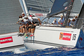 Un detalle de la regata Copa del Rey Maphre de Vela