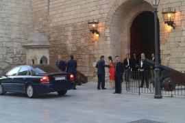 El President Bauzà con su mujer