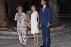 Los Reyes y Doña Sofía