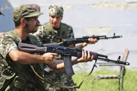 Dos españoles se alistan en la milicia prorrusa de Ucrania