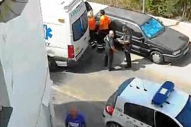 Evacuado un empleado de una lavandería de Cala de Bou que sufrió un accidente