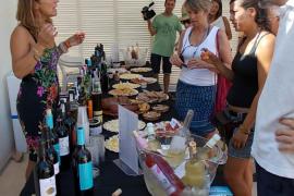 Formentera acogió ayer una muestra gastronómica de productos de Baleares