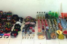 13 personas sancionadas, en un operativo contra la venta ambulante realizado en Cala Saladeta