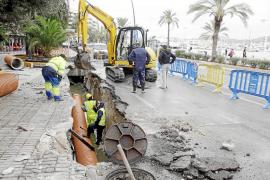 Eivissa pierde 5.000 millones de litros de agua potable al año por la red de suministro urbano