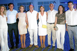 Cena de armadores en el Club Náutico de Palma