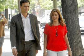 El PSOE de Pedro Sánchez defenderá la «centralidad y el sentido común» de Susana Díaz