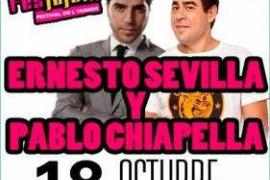 Ernesto Sevilla y Pablo Chiapella