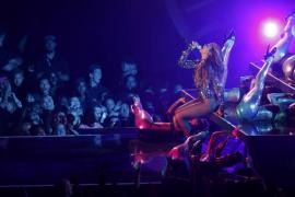 Beyoncé actuando en los MTV VMA