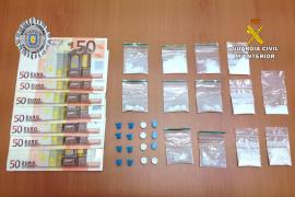 Dos detenidos por menudeo y otros dos por hurto en Sant Antoni