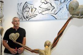 La dinámica y expresiva obra de García Albizuri llena Can Tixedó