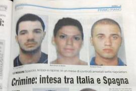 La prensa italiana se hace eco de las detenciones del clan Giuliano