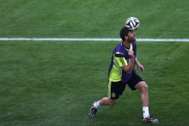 Xabi Alonso renuncia a la selección española