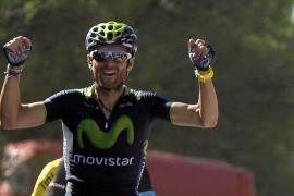 Victoria y liderato para Alejandro Valverde