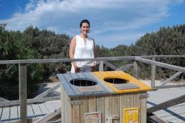 La recogida selectiva de envases en las playas supera las 23 toneladas