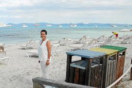 Formentera retira de sus playas más de 23 toneladas de envases