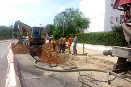 Reabren la playa de S'Estanyol, en Sant Josep donde aparecieron vertidos fecales