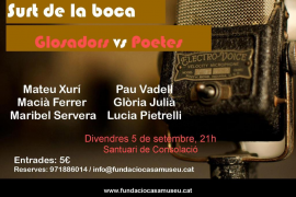 Combate: 'Glossadors vs. poetes'
