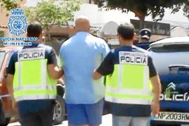 La Policía arresta en Vila un miembro de la Camorra buscado por tráfico de armas, extorsión e incendio