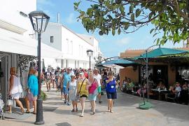 El turismo italiano, mayoritario en Formentera en 2014 con un 60%