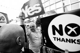 Escocia: los famosos se mojan