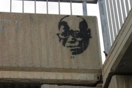 Vila sancionará a varias empresas por promocionarse con pintadas en las calles