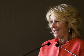 El juez cita a declarar a Esperanza Aguirre el día 22 por desobediencia