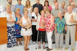 Una diosa Tanit para los turistas que llevan más de 25 años de fidelidad a Eivissa