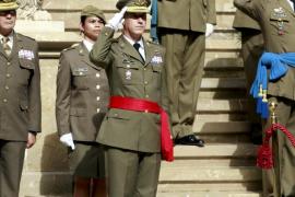 El general Fernando Aznar toma el mando de la Comandancia General de Balears