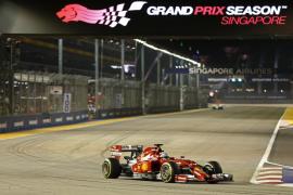 Hamilton y Alonso, los mejores en los entrenamientos de Singapur