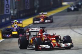 Alonso: «Hasta la entrada del 'safety car' asegurábamos la segunda plaza»