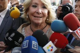"""Aguirre se declara contenta de haber contado """"por fin"""" el suceso de Gran Vía"""
