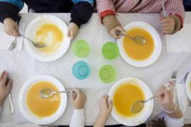 Los menús escolares de Balears son los segundos más caros de España