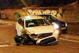 'Carambola' en la autovía de Sant Antoni