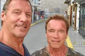 Arnold Schwarzenegger se pasea por Eivissa estos días