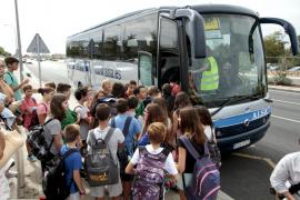 Problemas en el transporte escolar