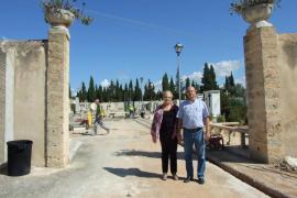 Obras en el cementerio de Marratxí