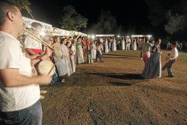 Tradición y diversión en la jornada payesa de Santa Gertrudis