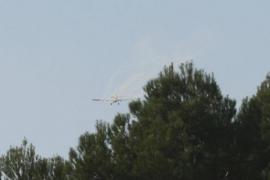 La fumigación aérea sobre la procesionaria no convence a los vecinos de Es Cap