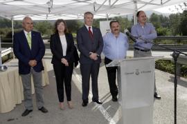Colocan la primera piedra de las obras viarias de Sant Joan, cuya reforma acabará en febrero de 2016
